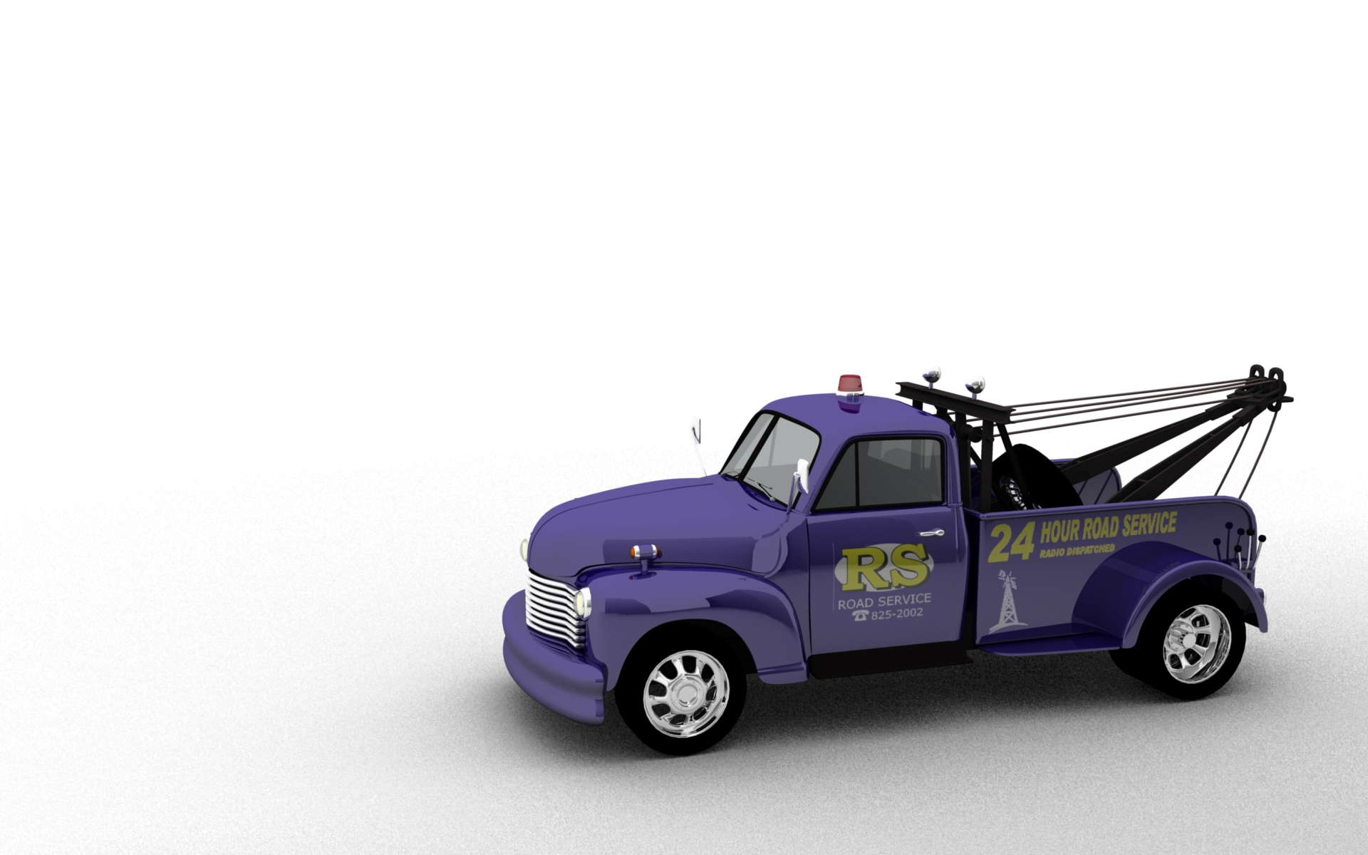Wallpaper – 1947 Chevrolet Truck, Blender 3D Model » DIY