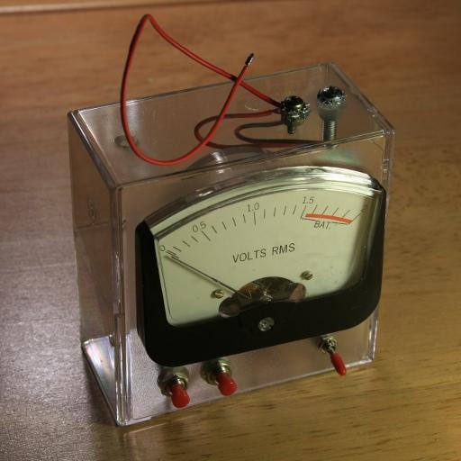 Very Simple DIY Battery Tester - Main